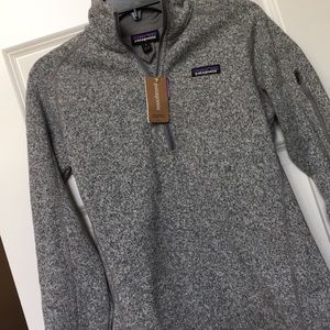 NWT Patagonia Women's Better Sweater Quarter Zip